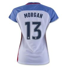 New ALEX MORGAN 13 USA WOMENS 2016 HOME SOCCER JERSEY, 3 Stars, USWNT