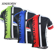XINZECHEN Bike Team Men's Short Sleeve Bicycle Cycling Jersey Shirt  Clothing