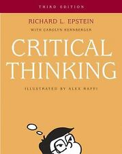 Critical Thinking by Carolyn Kernberger and Richard L. Epstein, 3rd Edition