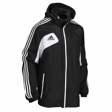 Adidas Condivo 12 Mens All Weather Black Football Jacket / Coat ~ All Sizes ~