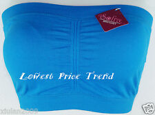 Strapless Tube Top BRA Seamless Removable Pad Bandeau NEW BR0123S
