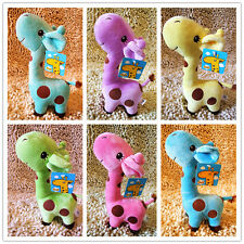 Lovely Cute Giraffe Stuffed Plush Toy Doll Sleep Pillow Baby Kids Christmas Gift