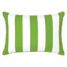 NEW Rapee Riviera Stripe Outdoor Breakfast Cushion in Multi-Coloured, Yellow