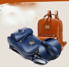 Fashion Women's Backpack Faux Leather School Bag Handbag Shoulder Bag Travel Bag