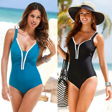 Sexy Swimwear Bikini Halter Monokini Bandeau Swimsuit One Piece Beachwear