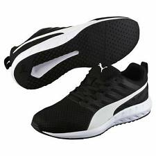 Puma Mens Flare Mesh Black White Breathable Running Shoes Sneakers DS 189028-02