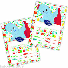 20 Adorable In The Night Garden Children's Party Invitations plus Envelopes