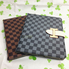 PU Leather Case Smart Flip Stand Folio Cover Skin For Apple iPad 2/3/4