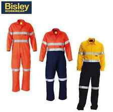 BISLEY FLAME RETARDANT COVERALLS HI VIS 3M TAPED COVERALL ULTRASOFT® BC8001
