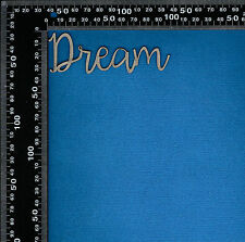 Chipboard Laser Cut Embellishment Dream Words