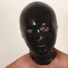 Special powder-free latex soft black/red chlorinated rubber hoods masks S -XL