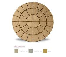 Cathedral Paving 1.8m Patio Pack Garden Feature Circle Kit