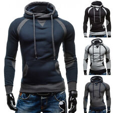 Fashion Men's Slim Fit  Casual Hooded Coat Hoodies Jacket Pullover Tops Sweater