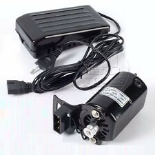 SELECT 180-250W SEWING MACHINE MOTOR/VARIABLE SPEED FOOT PEDAL SWITCH CONTROLLER