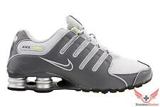 New 2015 Nike Mens Shox NZ Running Shoes Dark Grey/Wolf Grey/Volt All Sizes