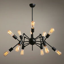 Fashion Vintage Loft Spider Shaped Pendant Lamp Hanging Light Chandelier Ceiling