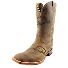 Nocona Arkansas Brown Cowhide Branded   Men  Square Toe Leather  Western Boot