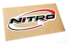 Nitro Boats - Bass Boat Carpet Graphic - Multiple Sizes - Decal Logo