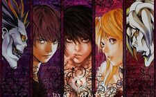 "Death Note Anime Fabric Art Cloth Poster 21x13 28x18 40x24"" Decor 12"