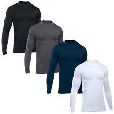 Under Armour 2016 Mens ColdGear Long Sleeve Golf Mock Fitted Baselayer Top