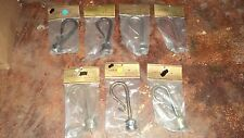 "Set of   Wrought Iron Finials Curtain Finials for 1-1/8"" Poles Swag Holders"
