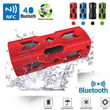 Bluetooth Speaker NFC Super Bass Stereo Waterproof Power Bank MIC IOS Android