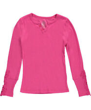 """Star Ride Big Girls' """"Ribbed & Crocheted"""" Top (Sizes 7 - 16)"""