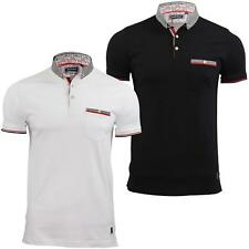 Mens Polo Shirt by Brave Soul 'Montague' Short Sleeved