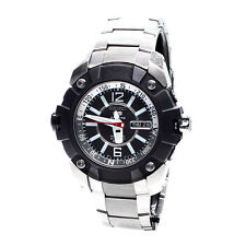 Seiko Analog Sport 5 SPORTS  Silver JAPAN Mens Watch SKZ261K1