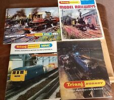 Triang Hornby Minic Model Railways Four Editions Plus a price list 12,13,15,16