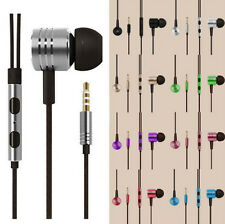In-Ear Earphone HOT For iPhone Samsung HTC Stereo 3.5mm Remote Mic Headphone