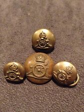Set Of Royal Artillery Buttons