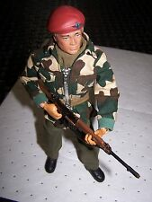 **Vintage Action Man with Gripping Hands + Parachute Regiment Uniform Not 40th!*