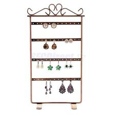 48-Hole Earrings Ear Studs Holder Stand Jewelry Display Rack Antique Multi