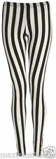 LADIES VERTICAL STRIPE PRINT FULL LENGTH LEGGING SPEEDY POST SALE UK8-14