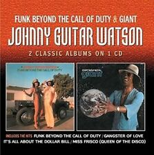 Funk Beyond the Call of Duty/giant - Watson,Johnny Guitar CD-JEWEL CASE