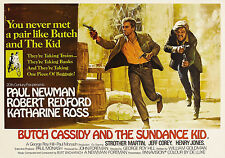 """Butch Cassidy & The Sundance Kid""..Classic Movie Poster A1A2A3A4Sizes"