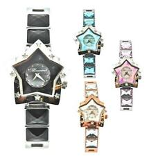 Womens Watch BLUMARINE STAR Steel Bracelet Star Pink Schwarz Light Blue Rose