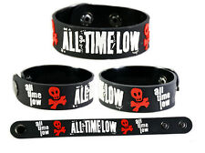 ALL TIME LOW  RUBBER BRACELET WRISTBAND
