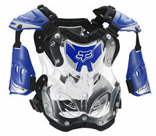 Fox Racing R3 Chest Roost Protector Deflector Blue