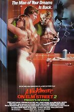 """""""Nightmare On Elm St 2 Freddys Revenge""""Classic Horror Movie Poster A1A2A3A4Sizes"""