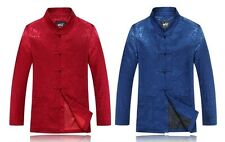 Men New Arrival Jacket Chinese Traditional Kung-Fu Coat Outerwear M L XL 2XL 3XL