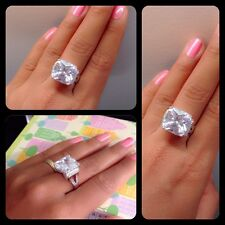 Fine Jewellery Rings Radiant Cut 5.08 Carat Engagement Ring Silver 22KT Impress8