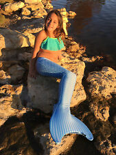 Swimmable Mermaid Tails by Magical Mermaid Tails with mono fin BAHAMA BLUE