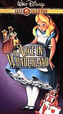 Alice in Wonderland (VHS, 2000, Gold Collection Edition) - free shipping in USA