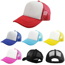 New Unisex Blank Plain Snapback Hats Women Men's Hip-Hop Baseball Cap Adjustable