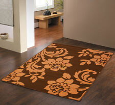MODERN LARGE RETRO 160 X 225CM BROWN BEIGE UNIQUE SOFT CLEARANCE RUGS FOR SALE
