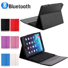 Hot Stand Leather Case Cover With Bluetooth Keyboard For Apple iPad 2 3 4 Gen