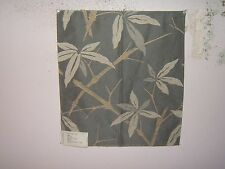 Lee Jofa G P J Baker Bamboo embroidered fabric remnant for crafts multiple clrs