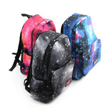 Galaxy Pattern Unisex Travel Backpack Canvas Leisure Bags School bag Rucksack PY